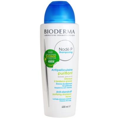 Bioderma Nodé P шампунь против перхоти для жирных волос