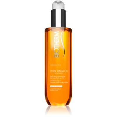 Biotherm Biosource Total Renew Oil olio detergente in schiuma