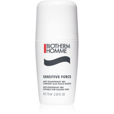 Biotherm Homme Sensitive Force antiperspirant roll-on za zelo občutljivo kožo
