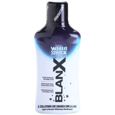 BlanX White Shock płyn do płukania jamy ustnej o działaniu wybielającym