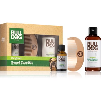 Bulldog Original Beard Care Kit Gift Set (for Men)