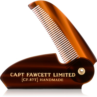 Captain Fawcett Accessories češalj za brkove na sklapanje