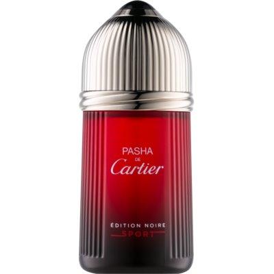 Cartier Pasha de Cartier Edition Noire Sport woda toaletowa dla mężczyzn