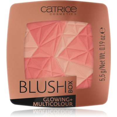 Catrice Blush Box Glowing + Multicolour  blush illuminateur