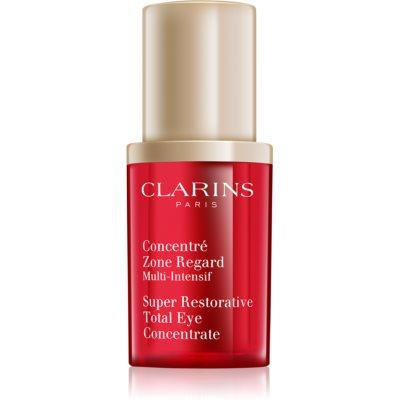 Clarins Super Restorative siero rassodante occhi contro rughe, gonfiori e macchie scure