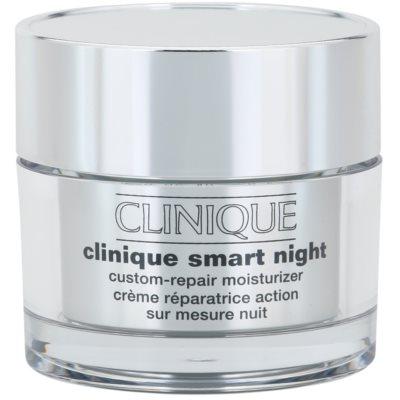 Clinique Clinique Smart nawilżający krem przeciwzmarszczkowy na noc do skóry suchej i bardzo suchej