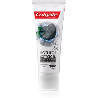 Colgate Natural Extracts Charcoal + White dentifrice blanchissant au charbon actif