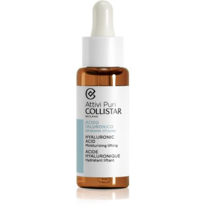 Collistar Pure Actives ser facial cu efect de lifting cu acid hialuronic