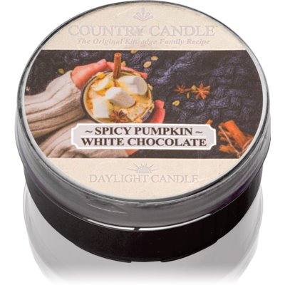 Country CandleSpicy Pumpkin White Chocolate