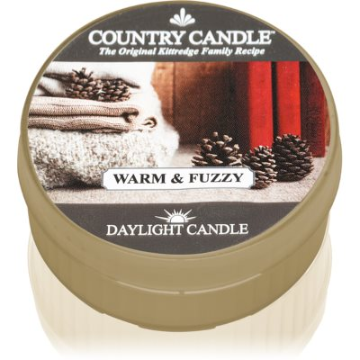 Country CandleWarm & Fuzzy