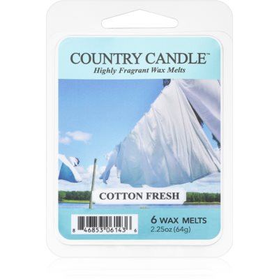Country CandleCotton Fresh
