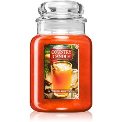 Country Candle Buttered Rum Toddy scented candle