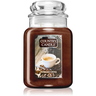 Country CandleEspresso Crema
