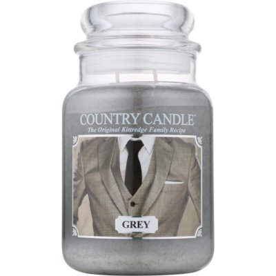 Country CandleGrey