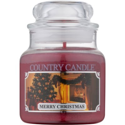 Country CandleMerry Christmas