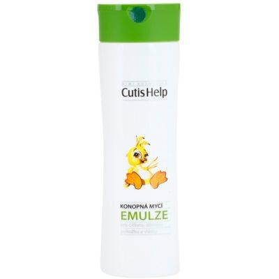CutisHelp Mimi konopna emulsja myjąca dla dzieci od urodzenia