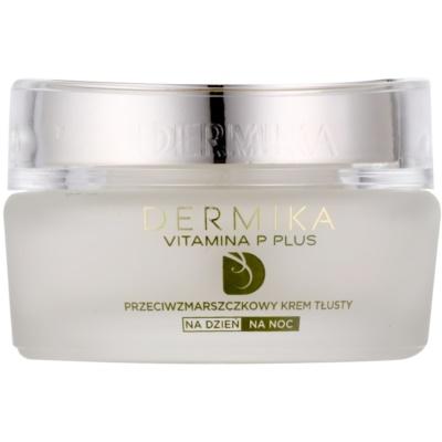 Dermika Vitamina P Plus odżywczy krem przeciwzmarszczkowy do skóry wrażliwej ze skłonnością do przebarwień