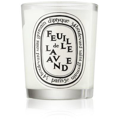 Diptyque Feuille de Lavande scented candle