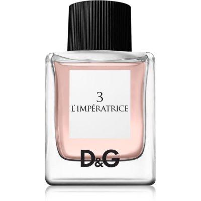 Dolce & Gabbana 3 L'Imperatrice тоалетна вода за жени