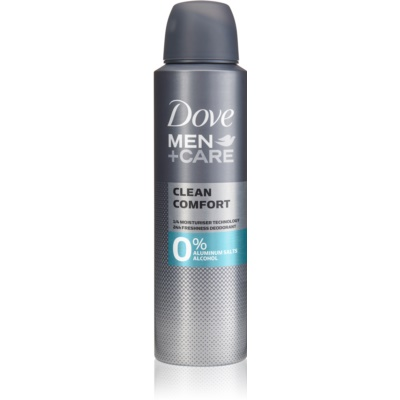 Dove Men+Care Clean Comfort Alcohol-Free and Aluminium-Free Deodorant 24 h