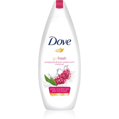 Dove Go Fresh Pomegranate & Lemon Verbena питательный гель для душа