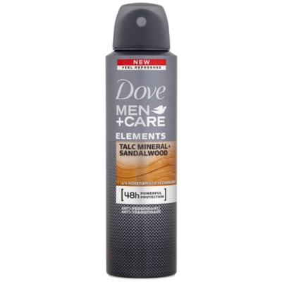 Dove Men+Care Elements Antiperspirant Spray 48 tim
