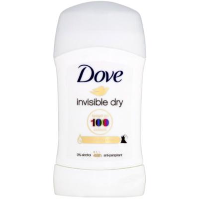Dove Invisible Dry Antitranspirant-Stick gegen weiße Flecken 48 Std.