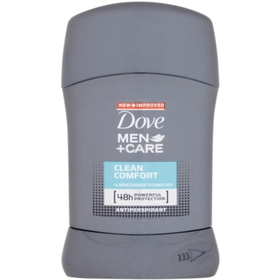 Dove Men+Care Clean Comfort Antiperspirantstift 48 tim
