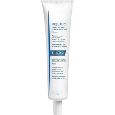 Ducray Kelual DS die beruhigende Creme Für irritierte und fettige Haut, die übermässig schuppt.