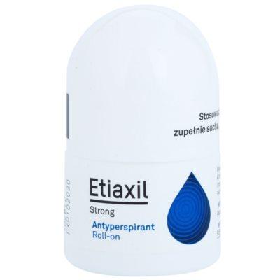 Etiaxil Strong антиперспирант с шариковым аппликатором 5-дневного действия для лечения чрезмерной потливости