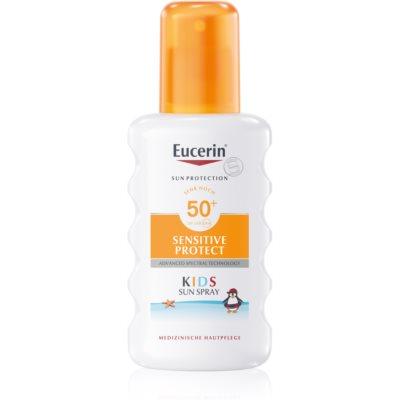 Eucerin Sun Kids детский защитный спрей SPF 50+