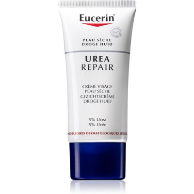 Eucerin Dry Skin Urea Face Cream For Dry To Very Dry Skin