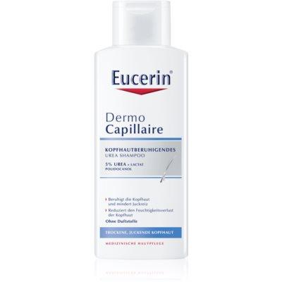 Eucerin DermoCapillaire Schampo För torr och kliande hårbotten