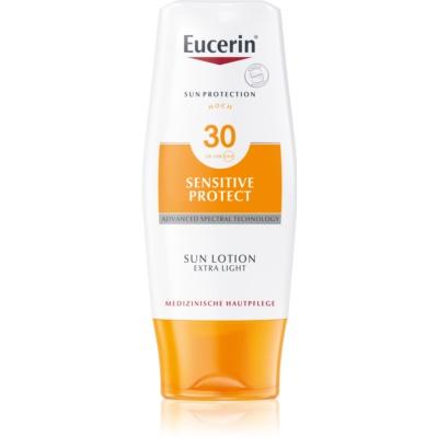Eucerin Sun extra leichte Bräunungslotion SPF 30