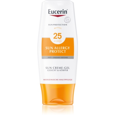 Eucerin Sun Allergy Protect Gel Cream Sunscreen for Sun Allergies SPF 25