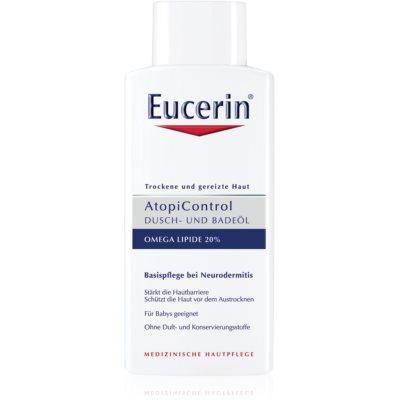 Eucerin AtopiControl масло для душа и ванн для сухой и зудящей кожи