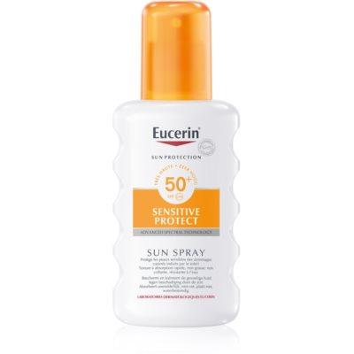 Eucerin Sun защитный спрей SPF 50+