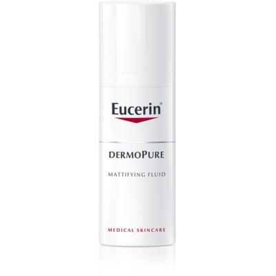 Eucerin DermoPure матирующая эмульсия для проблемной кожи