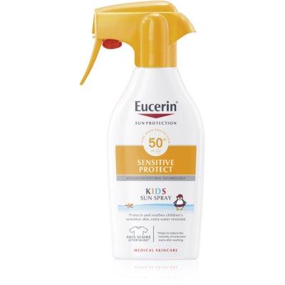 Eucerin Sun Sensitive Protect детский спрей для загара SPF 50+