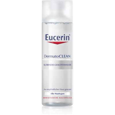 Eucerin DermatoClean очищающая вода для лица для всех типов кожи лица