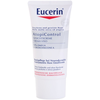 Eucerin AtopiControl 12% Omega + Licochalcone A Soothing Cream For Dry And Itchy Skin