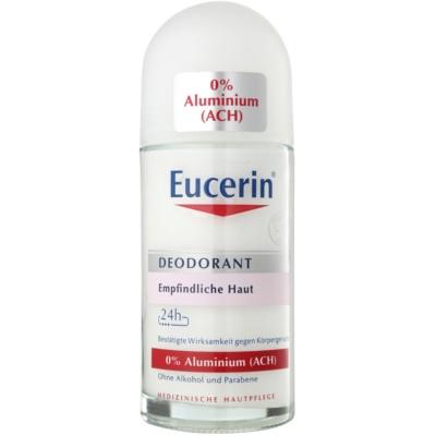 Eucerin Deo шариковый дезодорант без содержания алюминия для чувствительной кожи