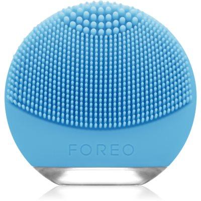 FOREO Luna™ Go spazzola sonica per la pulizia del viso confezione da viaggio