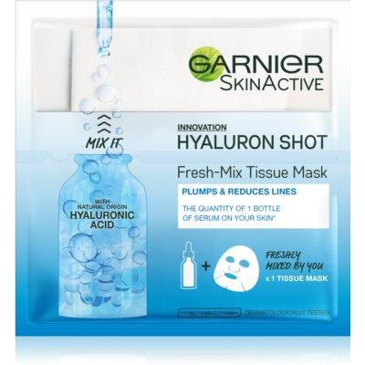 Garnier Skin Naturals Fresh Mix Mask Hyaluron maschera per pelli secche