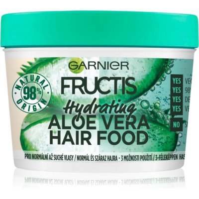 Garnier Fructis Aloe Vera Hair Food Hydrating Mask For Normal To Dry Hair