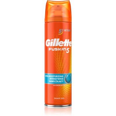 Gillette Fusion5 gel de rasage pour homme