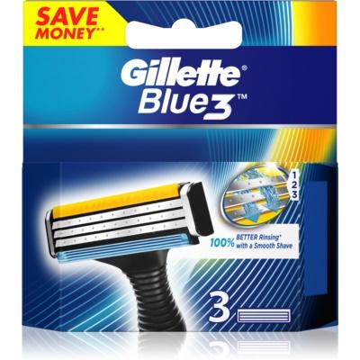 Gillette Blue 3 náhradní břity