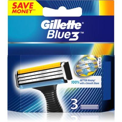Gillette Blue 3 zapasowe ostrza