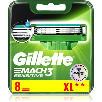 Gillette Mach3 Sensitive Replacement Blades s