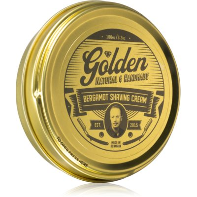 Golden BeardsBergamot Shaving Cream